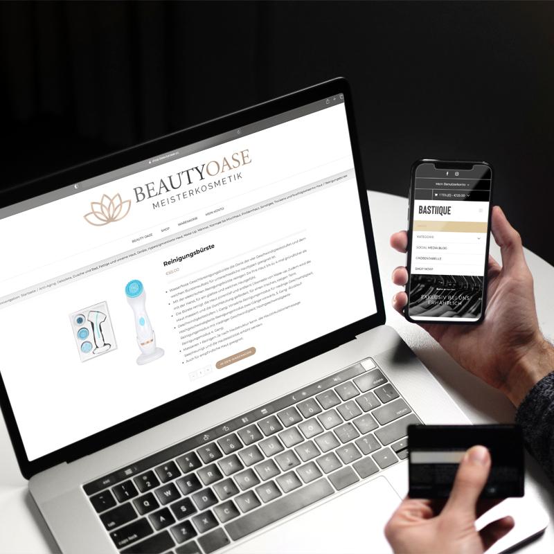 Online Shop für Notebook und Handy