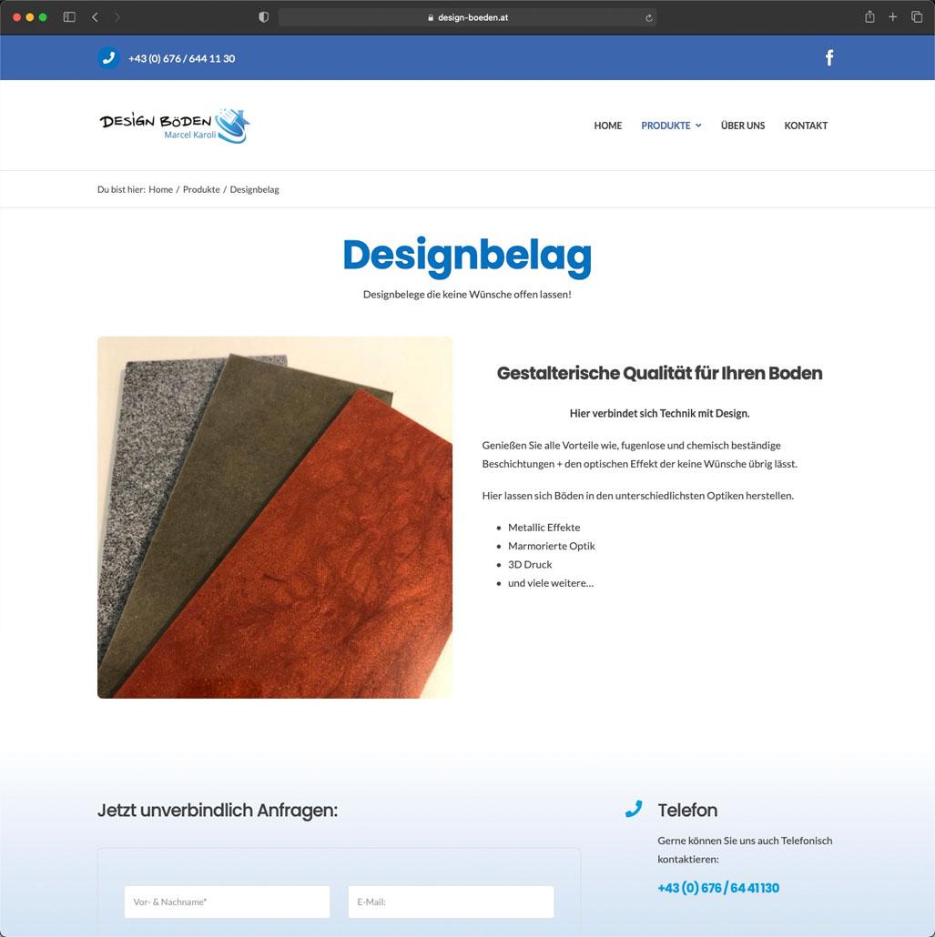 Referenz - Design Böden